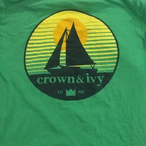 crown & ivy t-shirt